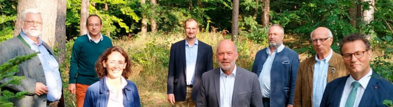 Landeswaldverband Vorstand Mitglieder Forstminister