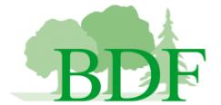 Logo BDF BW