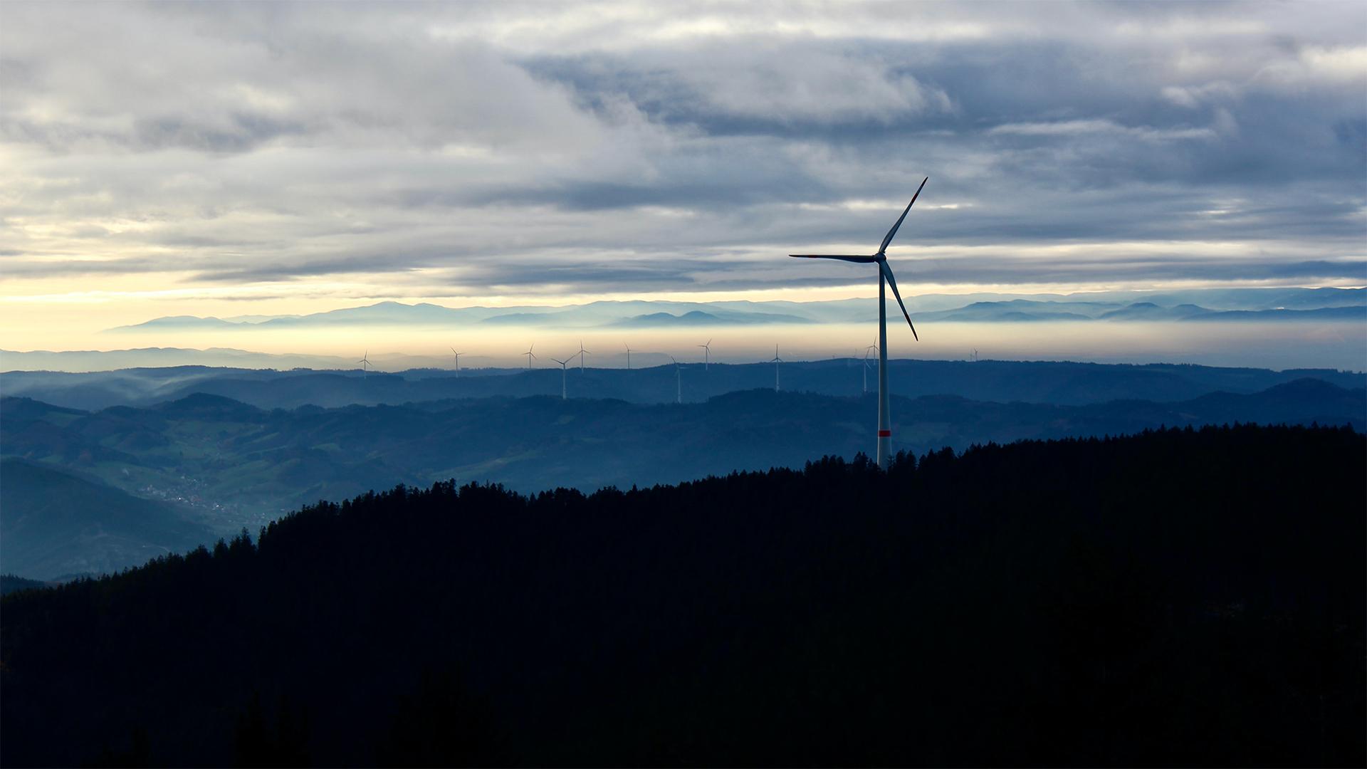Windkraft in Baden-Württemberg