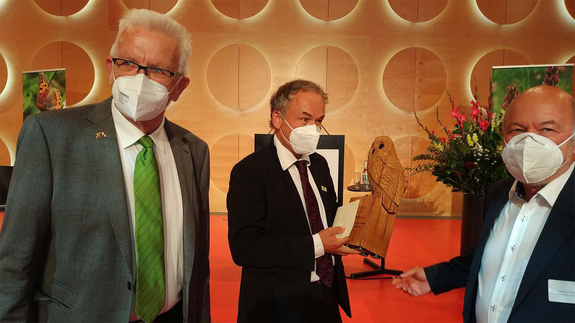 Landeswaldverband gratuliert LNV zum 50. Jubiläum